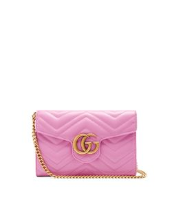 Gucci | Gg Marmont Quilted-Leather Cross-Body Bag
