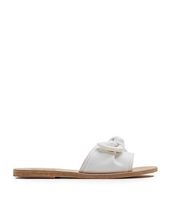 ANCIENT GREEK SANDALS | Taygete Denim Slides