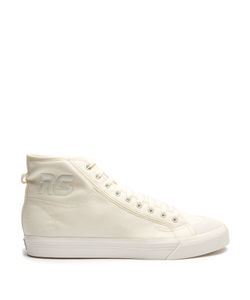 ADIDAS BY RAF SIMONS | Matrix Spirit High-Top Canvas Trainers