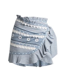 DODO BAR OR | Abigail Ruffle-Trimmed Cotton Skirt