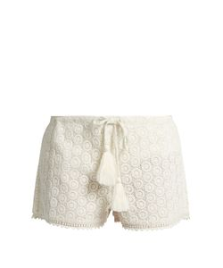 TALITHA | Broderie-Anglaise Cotton Shorts