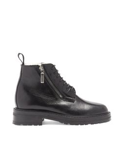 Saint Laurent | William Shearling-Lined Leather Ankle Boots