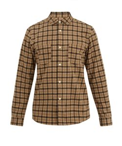 A.P.C. | Riga Checked Wool-Blend Shirt