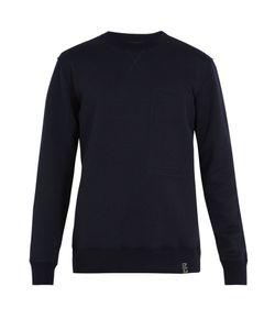 Lanvin | Logo-Patch Wool-Blend Jersey Sweatshirt
