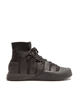 Y-3 SPORT | Control High-Top Neoprene Trainers