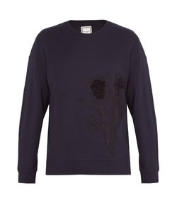 Wooyoungmi | Tulip-Embroidered Cotton Sweatshirt