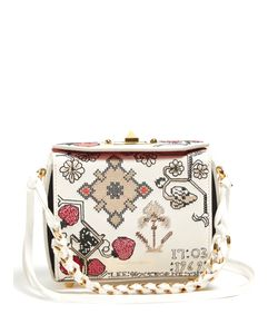 Alexander McQueen | Box 16 Mini Embroidered Shoulder Bag