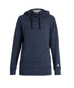 Todd Snyder + Champion | Funnel-Neck Hooded Cotton Sweatshirt