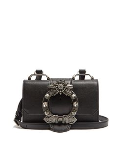 Miu Miu | Lady Grained-Leather Cross-Body Bag