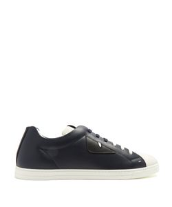 Fendi | Bag Bugs Low-Top Leather Trainers