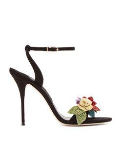 Sophia Webster   Lilico Crystal-Embellished Suede Sandals