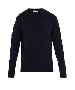 J.W. Anderson | Pocket-Detail Wool-Blend Sweater