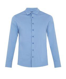 FRESCOBOL CARIOCA | Long-Sleeved Cotton-Jersey Polo Shirt