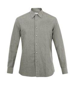 Brioni | Point-Collar Cotton Shirt