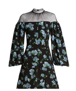 Emilia Wickstead | Femie Print Textured-Georgette Dress