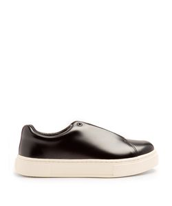 EYTYS | Doja Lace-Up Leather Trainers