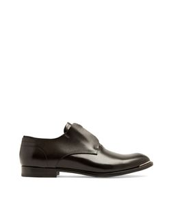 Alexander McQueen | Zip-Front Leather Derby Shoes