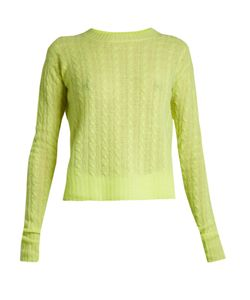 SIES MARJAN | Casey Cable-Knit Cashmere Sweater