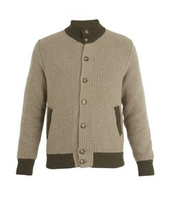 Thom Sweeney | High-Neck Cashmere And Wool-Blend Bomber Jacket