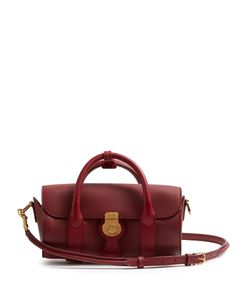 Burberry | Trench Small Textu-Leather Barrel Bag
