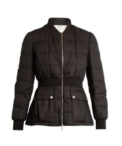 Moncler Gamme Rouge | Sonora Cotton And Silk-Blend Quilted Down Jacket