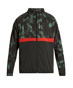 THE UPSIDE | Ultra Sketchy Camouflage-Print Running Jacket