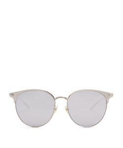 Saint Laurent | Cat-Eye D-Frame Mirrored Sunglasses