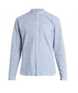 Oliver Spencer | Granddad-Collar Cotton Shirt