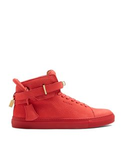 Buscemi | Core Clip High-Top Leather Trainers
