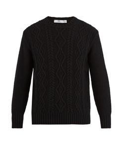 INIS MEÁIN | Aran Cable-Knit Wool Sweater