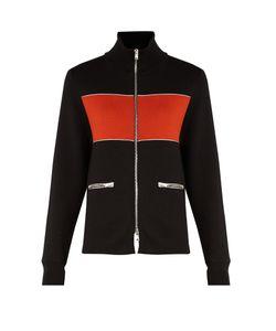 WALES BONNER | Emory Bi-Colour Silk And Cotton-Blend Jacket