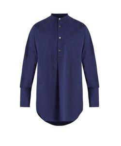 Stella Mccartney | Mandarin-Collar Cotton Shirt