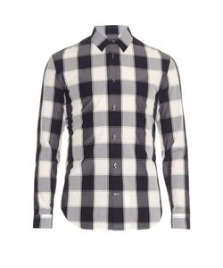 Maison Margiela | Bi-Colour Checked Shirt