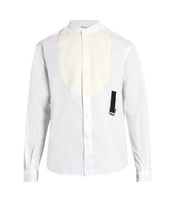 J.W. Anderson | Band-Collar Bib-Front Cotton Shirt