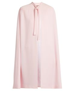 Duro Olowu | Neck-Tie Silk-Blend Crepe Cape