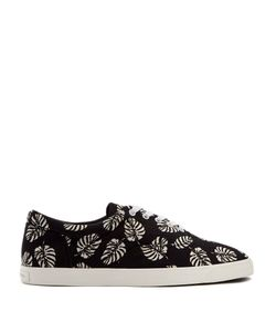 Dolce & Gabbana | Palm-Print Canvas Trainers