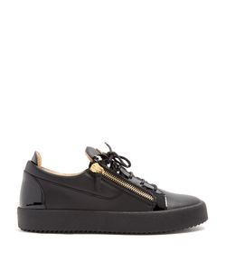 Giuseppe Zanotti Design | Frankie Low-Top Leather Trainers