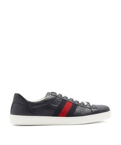 Gucci | New Ace Low-Top Leather Trainers