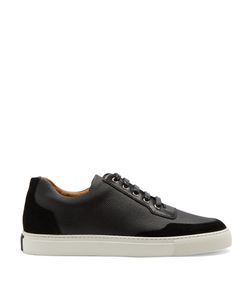 Harrys Of London | Mr Jones Coated-Canvas And Suede Low-Top Trainers