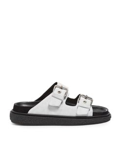 Isabel Marant | Étoile Ledkin Double-Buckle Suede Sandals