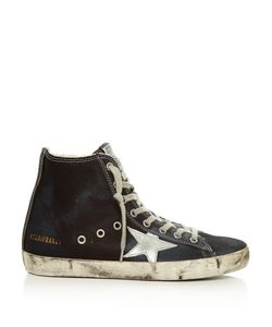 Golden Goose | Francy High-Top Denim Trainers