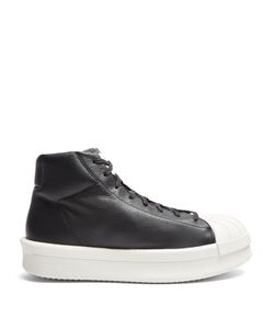 Rick Owens | X Adidas Mastodon High-Top Leather Trainers