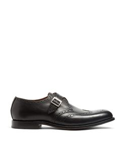 Grenson | Basil Monk-Strap Leather Shoes