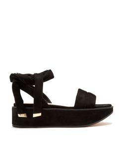 Nicholas Kirkwood | Ziggy Suede Flatform Sandals