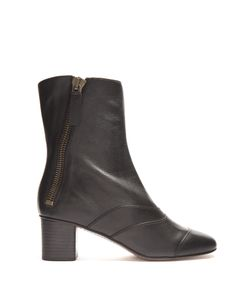 Chloe | Lexie Leather Ankle Boots