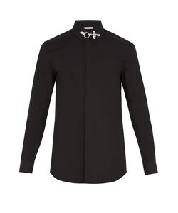 Givenchy | Cuban-Fit Collar-Fastening Cotton Shirt