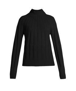 Bottega Veneta | Roll-Neck Ribbed-Knit Cashmere Sweater