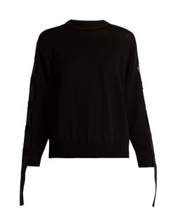 Toga | Open-Back Cotton-Blend Sweater