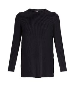 The Row | Selina Ribbed-Knit Cotton-Blend Sweater