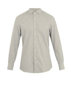 Boglioli | Regular-Fit Single-Cuff Checked Cotton Shirt